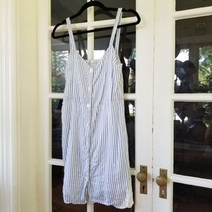 Zara - Casual Striped Mini Sun Dress